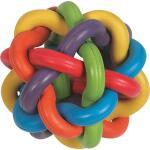 Speelbal Multicolor rubber Ø 9 cm