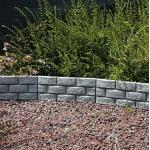 Tuinboord baksteenmotief - ca. 170 cm (4 stuks)