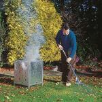 Verbrandvat voor de tuin