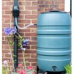 Verdeler regenwater + filter - zwart