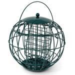 Vetblokhouder in beschermkooi voor kleinere vogels