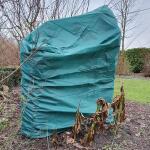Vlieshoes groen 200 x 240 cm