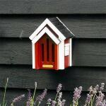 Vlinderkast Cottage rood