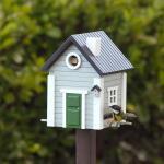 Vogelhuis / voederhuis Multiholk Grey House