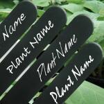 Waterbestendige stift wit voor plantenlabels