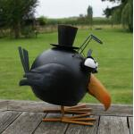 Wiebelende vogel Sherlock