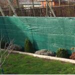Wind- en zichtbreeknet groen 1,5 x 9 m