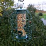 Zadenvoedersilo kleine vogels
