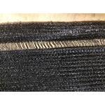 Zichtbreker - windbreker 25 x 1,8 m zwart