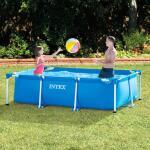 Metal frame zwembad rechthoekig Intex - 260 x 160 x 65 cm
